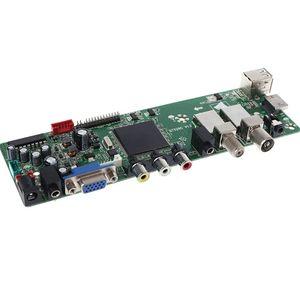 Image 2 - DVB S2 DVB T2 DVB CดิจิตอลสัญญาณATV Maple Driver LCDรีโมทคอนโทรลBoard Launcher Universal Dual USB QT526C V1.1 T. S512.69