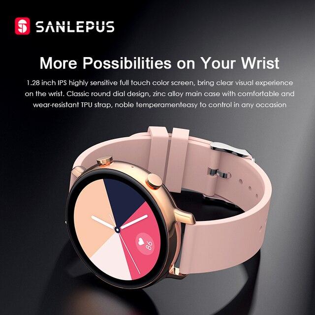 Smart Watch Bluetooth Calls Men Women Waterproof Smartwatch 4