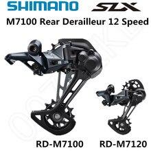 시마노 DEORE SLX RD M7100 M7120 후방 변속기 산악 자전거 M7100 SGS MTB 변속기 12 속도 24 속도