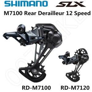 Image 1 - 시마노 DEORE SLX RD M7100 M7120 후방 변속기 산악 자전거 M7100 SGS MTB 변속기 12 속도 24 속도