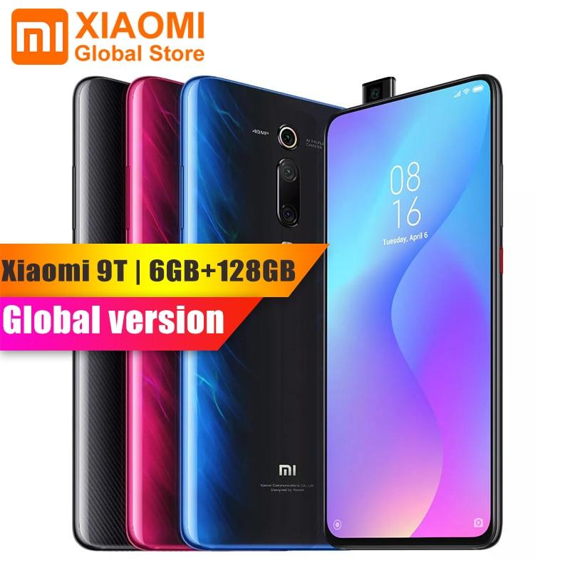 Globale Version Xiao mi mi 9 T (Rot mi K20) mi 9 T 6GB 128GB Volle Bildschirm 48 mi llion Super weitwinkel Pop-up Vorne kamera Smartphone