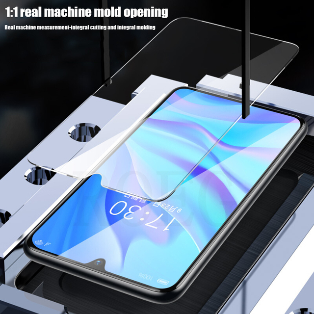 4PCS Full Cover Tempered Glass For Huawei P30 P40 Lite P20 Pro Glass Screen Protector For Huawei Mate 20 30 Lite P Smart Glass 2