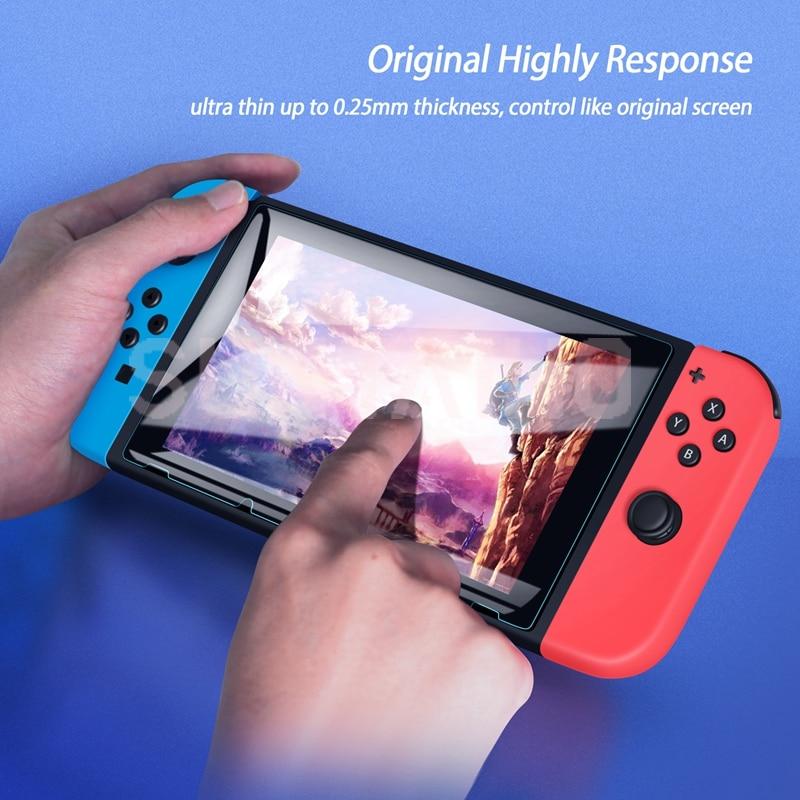"""3 pakuočių apsauginis stiklas """"Nintendo Switch"""" grūdinto - Žaidimai ir aksesuarai - Nuotrauka 2"""