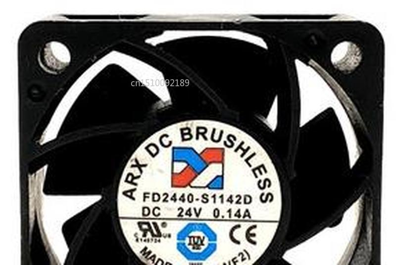 For ARX 4020 Fd2440-s1142d 24V 0.14a 4CM 2-wire Converter Cooling Fan Free Shipping