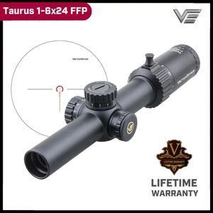 Óptica vectorial Taurus 1-6x24 Primer plano Focal alcance 21 grados FOV Ture One Power 1/5MIL ajuste iluminado