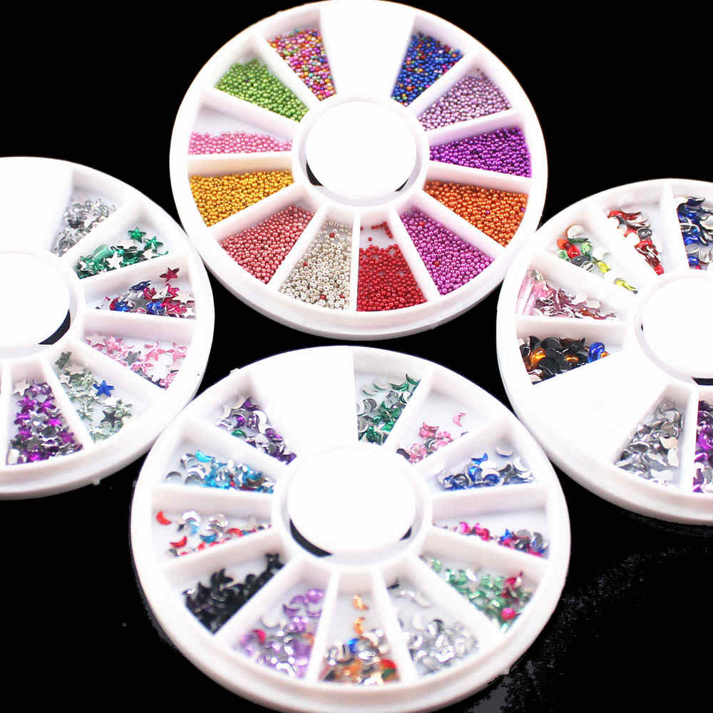 Fashion DIY Nail Steen Acryl Poeder Poly Gel Nagellak Nail Art Decorations Crystal Manicure Professionele Nail Accesorios