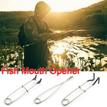 Stainless Steel Fish Mouth Spreader Bottle Hanger Spring Fish Mouth Support
