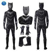 ManLuYunXiao New Arrival Black Panther Cosplay Costume Halloween Costumes Made Free Shipping