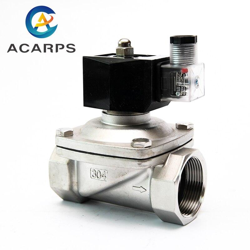 Válvula de solenoide eléctrica IP65 resistente al agua de 1-1/2