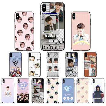 YNDFCNB Seventeen 17 Kpop чехол для телефона iphone 11 12 Mini Pro Max X XS MAX 6 6s 7 8 Plus 5 5S 5SE XR SE2020 image
