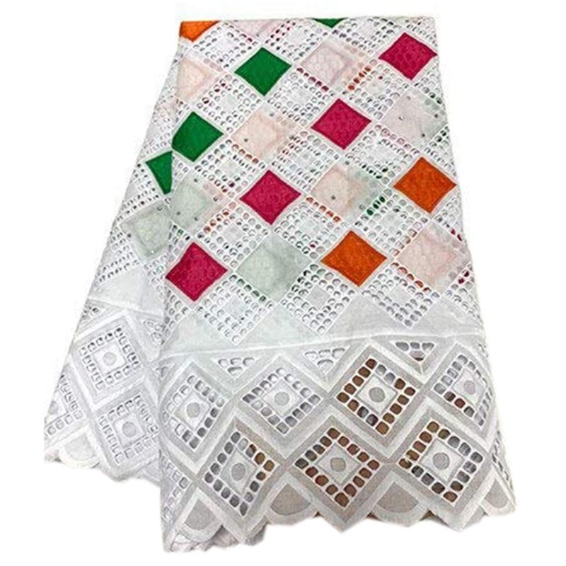 Dry Lace Fabric Lace Fabric Swiss Yarn Geometric Rhinestone Cloth