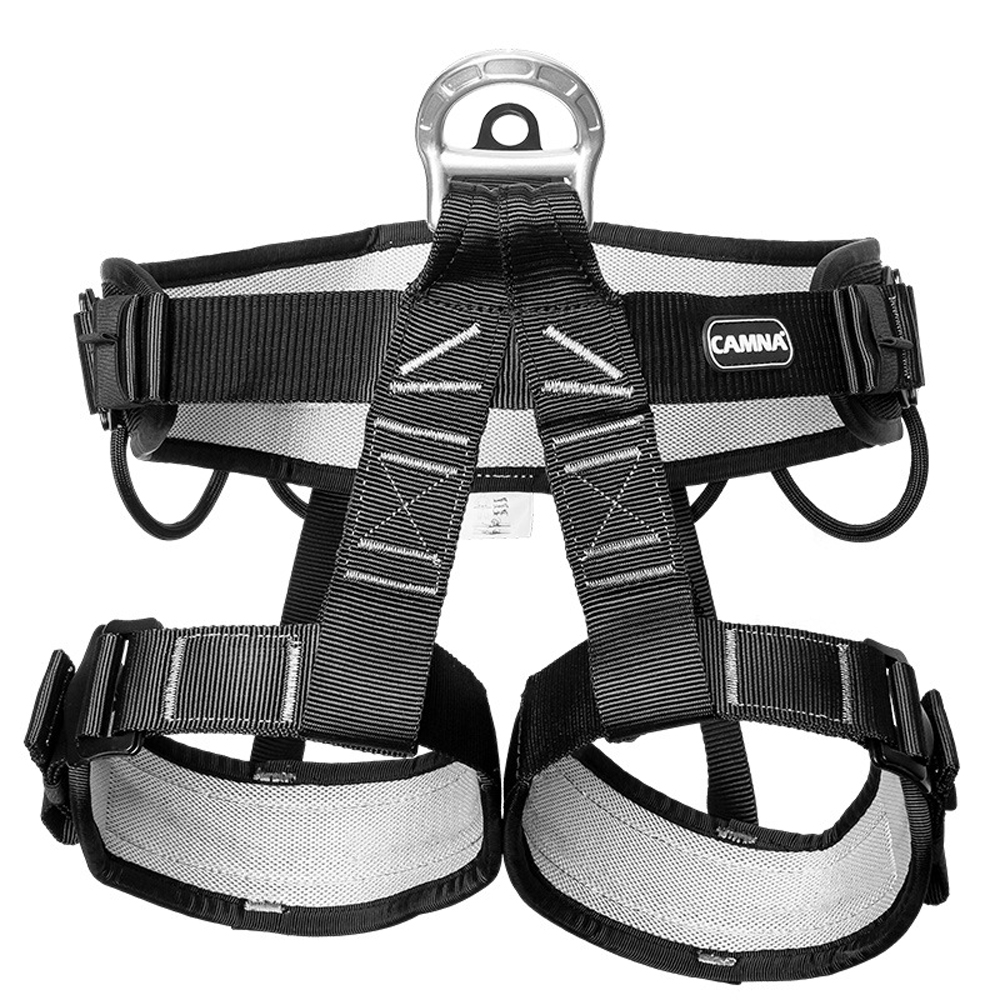 CAMNAL Professional Outdoor Anti Fall Rescue Climbing Cave Outdoor Spider-work Half-length Seat Belt Safety Belt Half-protection