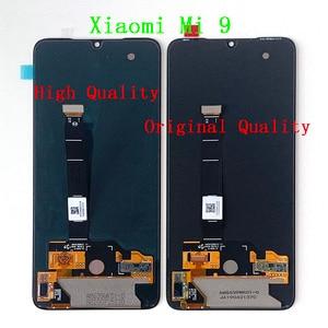 """Image 5 - 6.39 """"Original Supor Amoled M & Sen pour Xiaomi 9 Mi9 MI 9 LCD cadre décran daffichage + écran tactile numériseur pour 2340*1080 MI9 affichage"""