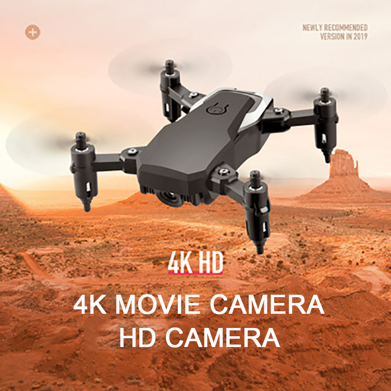 4K Mini Drone With Camera Dron Hight Hold Mode RC Quadcopter Foldable Helicopter Drone 4k RC Plane Drones image