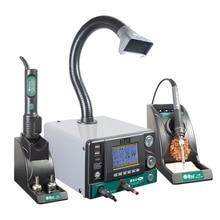 CXG DES – station de soudage électrique, pistolet à air chaud intelligent, fer à souder à gaz haute fréquence, purificateur d'air 3 en 1 H93