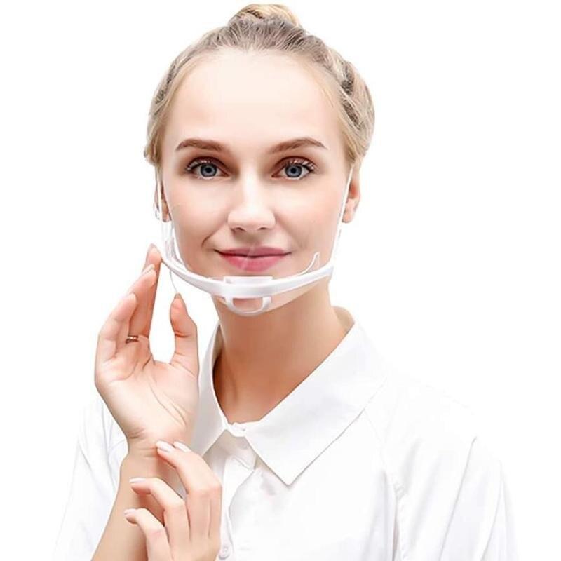 Protection-Mask Menton-Tools Anti-Splash Mouth Transparent Kitchen 10/20/30pcs