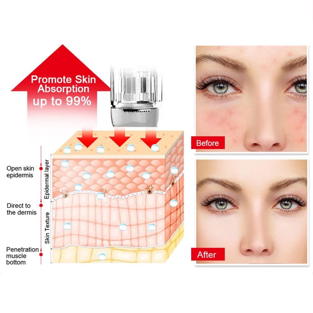 Nano Needles 12/36/42 Pins For Tattoo Permanent Makeup Machine Replacement Head Derma Pen Tattoo Tip Cartridges