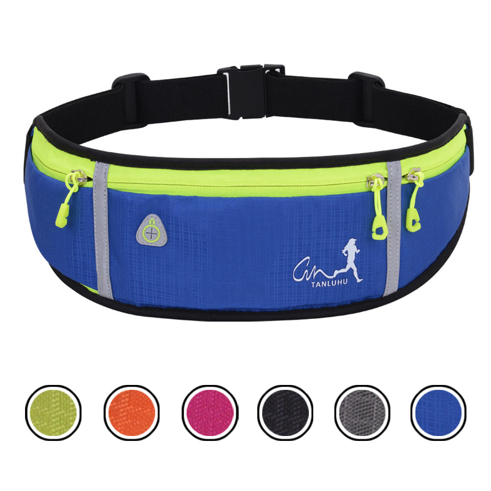 Waterproof Running Waist Packs Running Bag Belt Phone Container Jogging Hiking Belt Gym Fitness Bag Running