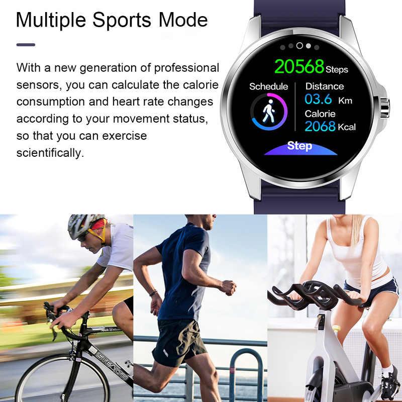 ساعة ذكية R23 اللمس أسورة ضد الماء معدل ضربات القلب ضغط الدم جهاز تعقب للياقة البدنية اللون الرجال النساء الرياضة دعوة ساعة تنبيه الفرقة