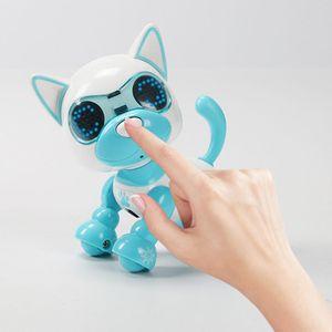 Робот-робот для собак, интерактивный для щенков, подарок на день рождения, рождественский подарок, игрушка для детей P31B