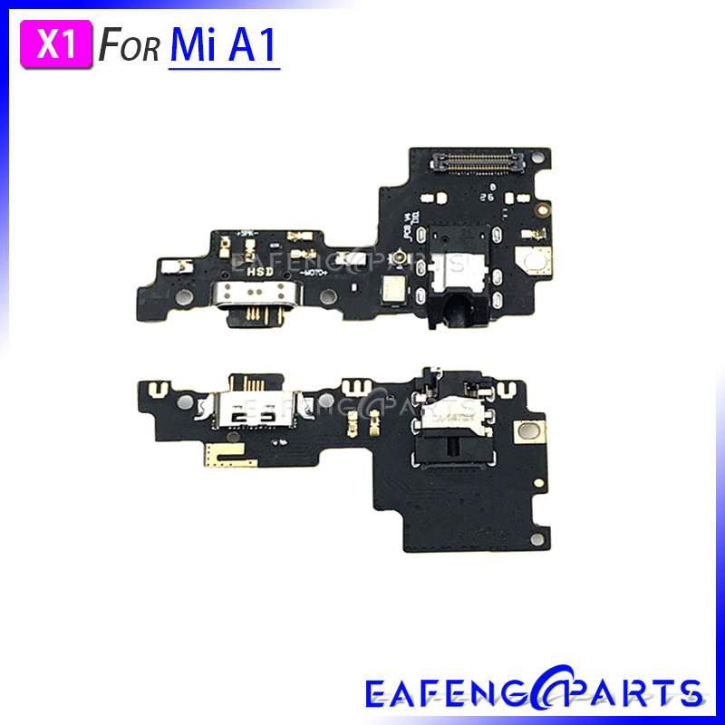 Dock Connector USB Charging Port Flex Cable For Xiaomi Mi A1 Charger With <font><b>Audio</b></font> <font><b>Jacket</b></font> image