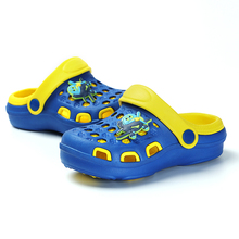 Rubber Slippers Unisex Summer Sandals Breathable Fashion Hole Shoes Pink Girl Slippers Home