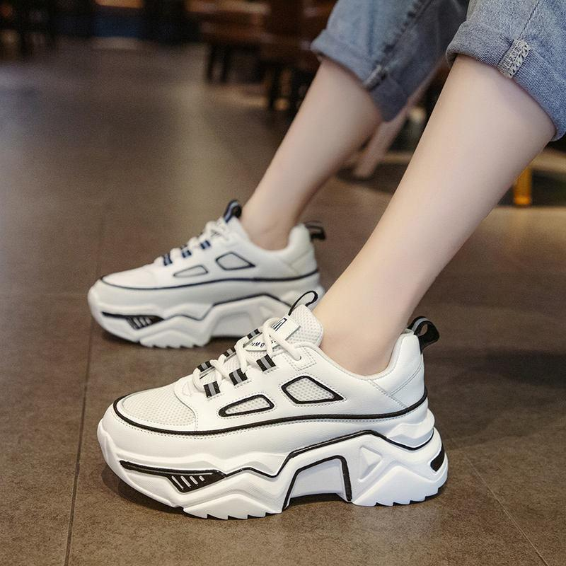 Women Flat Sport Shoes Ladies Casual Walking Hiking Running Sneakers Woman Breath Fitness Jogging Tennis Shoes