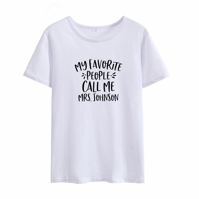 MY FAVOEITE PEOPLE Harajuku T-shirt Women Streetwear Cotton Tee Shirt Femme Black White Shorts Sleeve Women T Shirt Tops