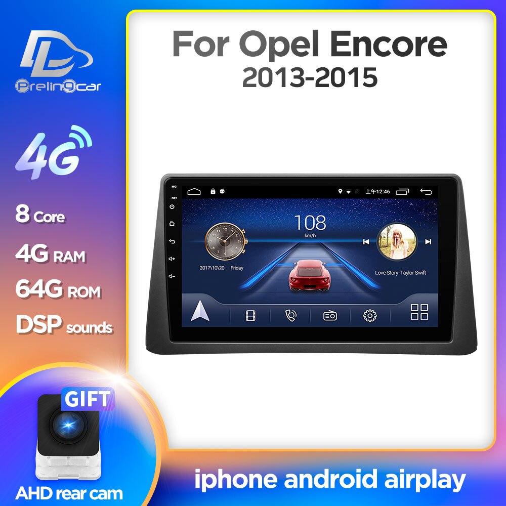 Android 9,0 4G Lte Автомобильный мультимедийный навигатор GPS dvd плеер для Opel Encore mokka 2013 2015 плеер IPS экран Радио стерео