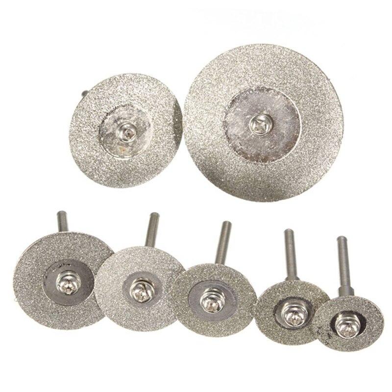 10 peças disco de corte de diamante roda conjunto para dremel