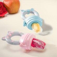Силиконовая Детская Соска-пустышка с мультяшным животным, для младенцев, держатель для сосков, для новорожденных, фруктовое зубное кольцо, Tetine Silicona Chupetero, для сосков