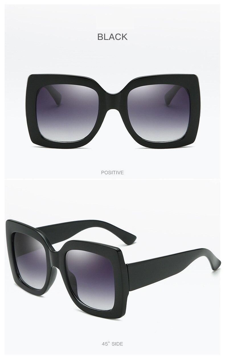 Luxury Brand Designer Square Sunglasses Shades For Women Vintage Women's Sun Glasses Cool Retro 2021 Trends Sunglasses Female gg (10)