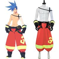 PROMARE GALO THYMOS Cosplay Galo Thymos Cosplay Costume Adult Men Pants Accessories Sets Halloween Carnival