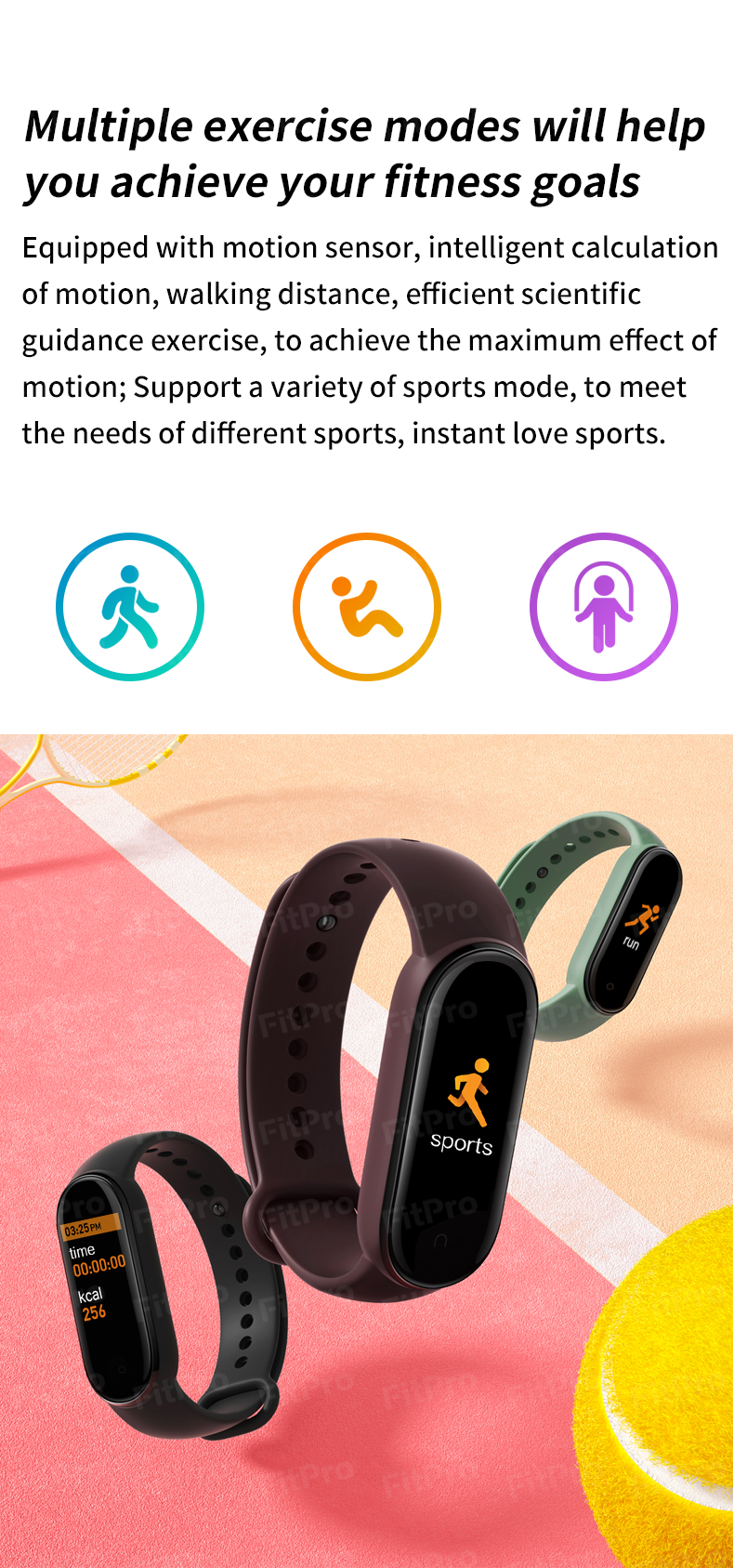 M5 Smarth Band Men Women Sport Watches Fitness Tracker Pedometer Heart Rate Blood Pressure Monitor Bluetooth Smart Wristbands