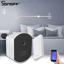 SONOFF D1 Smart Dimer Mini Led Light Wifi Switch Remote Controller Brightness Ewelink/Voice/433mhz RF EU Smart/Google Home Alexa