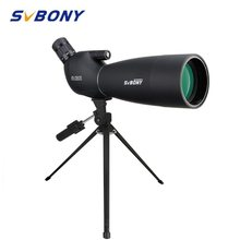 SVBONY 25-75 #215 70 Spektiv Lange Palette Große Okular 21mm telescop dla Ziel Schießen z pulpitu Stativ SV28 tanie tanio Realm CN (pochodzenie) 25x-75x Porro BAK4 70mm Multi-layer coating 64-43 ft 1000yds 16-14mm Fold Down Yes (IP65) 1600g 56 44oz (Only Spotting Scope)