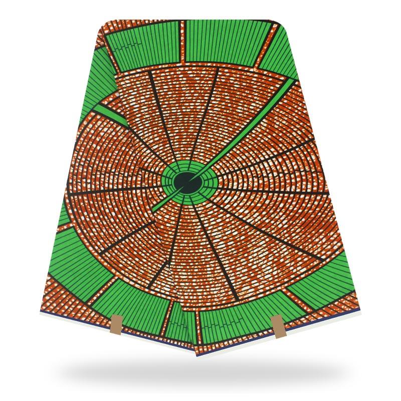 2020 Ankara African Wax Prints Fabric Nigeria Dutch Veritable Wax 100% Cotton 6 Yards Cotton Material For Dress