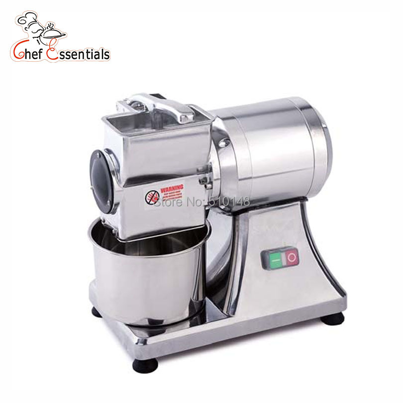 Chef Prosentials Electric Cheese Grater Commercial Automatic Cheese Slicer Stainless Steel Pizza Cheese Cutter
