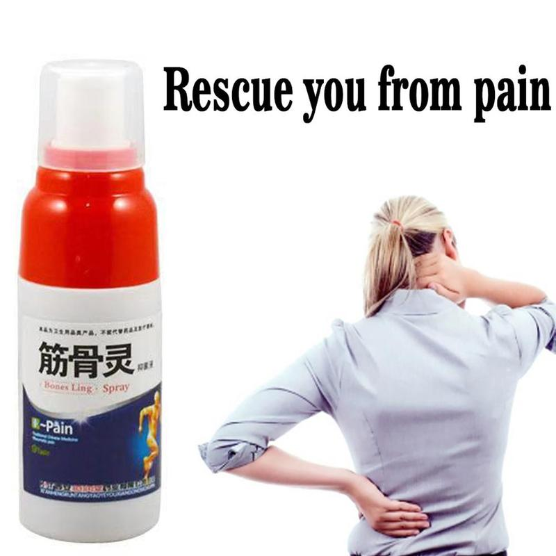 Medical Pain Relief Spray Rheumatism Arthritis Muscle Sprain Knee Waist Pain Back Shoulder Spray Tiger Orthopedic Plaster