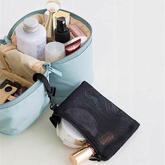 UOSC Makeup Bag Women Bags Men Large Waterproof Nylon Travel Cosmetic Bag Organizer Case Necessaries Make Up Wash Toiletry Bag 4