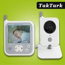TakTark 3,2 дюйма беспроводной цветной видеоняня Ночник светильник портативная детская няня камера безопасности ИК светодиодный ночное видени...