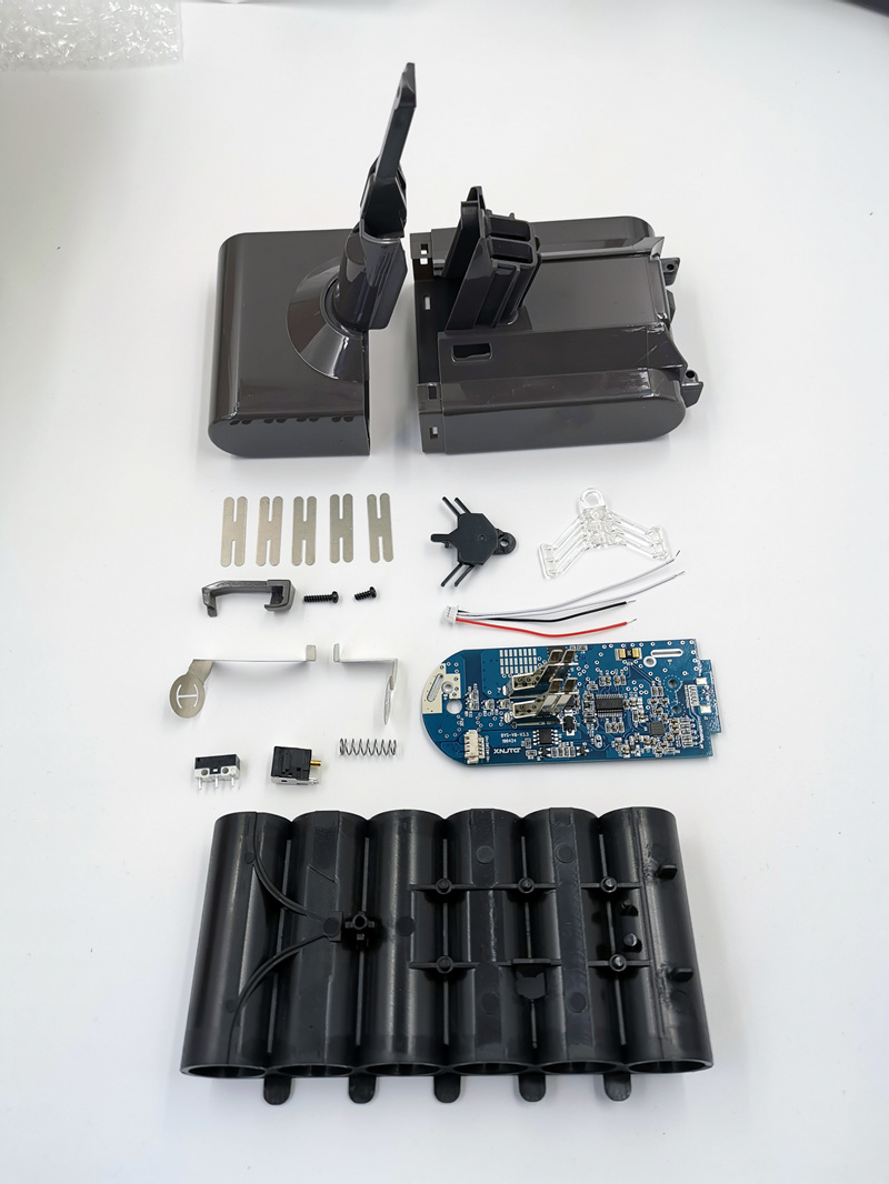 Nesting Case PCB Board <font><b>Battery</b></font> <font><b>sleeve</b></font> For Dyson V8 <font><b>Battery</b></font>(<font><b>21700</b></font>) image
