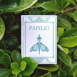 Bicycle Papilio Ulysses Playing Cards Poker Size Deck Custom Limited Edition Magic Deck Props Magia Tricks