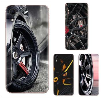 For Samsung Galaxy J1 J3 J4 J5 J6 J7 A10 A20 A20E A3 A40 A5 A50 A7 2016 2017 2018 Soft Fashion Phone Case Sports Car Wheel image