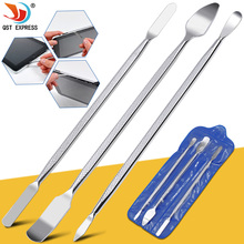 3pcs Universal Mobile Phone Repair Opening Tool Metal Disassemble Crowbar Metal Steel Pry Phone Hand Tool Set cheap QSTEXPRESS Electrical Combination GD5236 Case Computer Tool Kit 175mm
