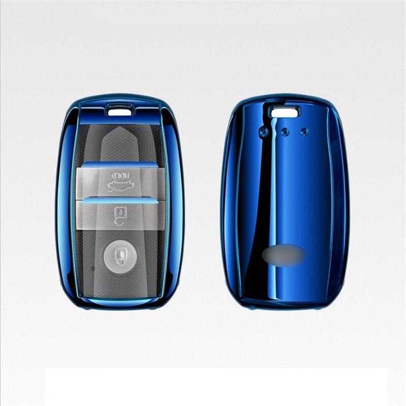 Carcasa de TPU para llave de coche, carcasa completa para Kia Rio 3 K2 Ceed Cerato K3 Sportage 4 Picanto K5 Optima Sorento Forte accesorios Stinger