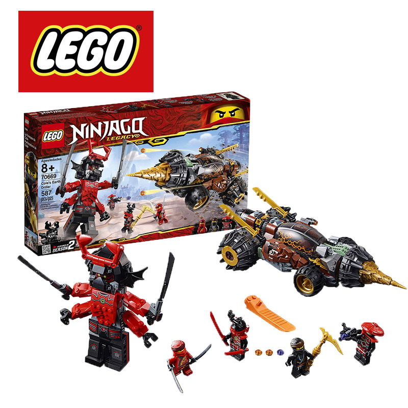 70669 LEGO Ninjago Cole/'s Earth Driller 587 Pieces Age 8 New Release for 2019!