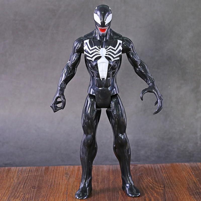 Titan Hero Series  Venom 12'' Action Figure PVC Model Toy Brinquedo for Kids