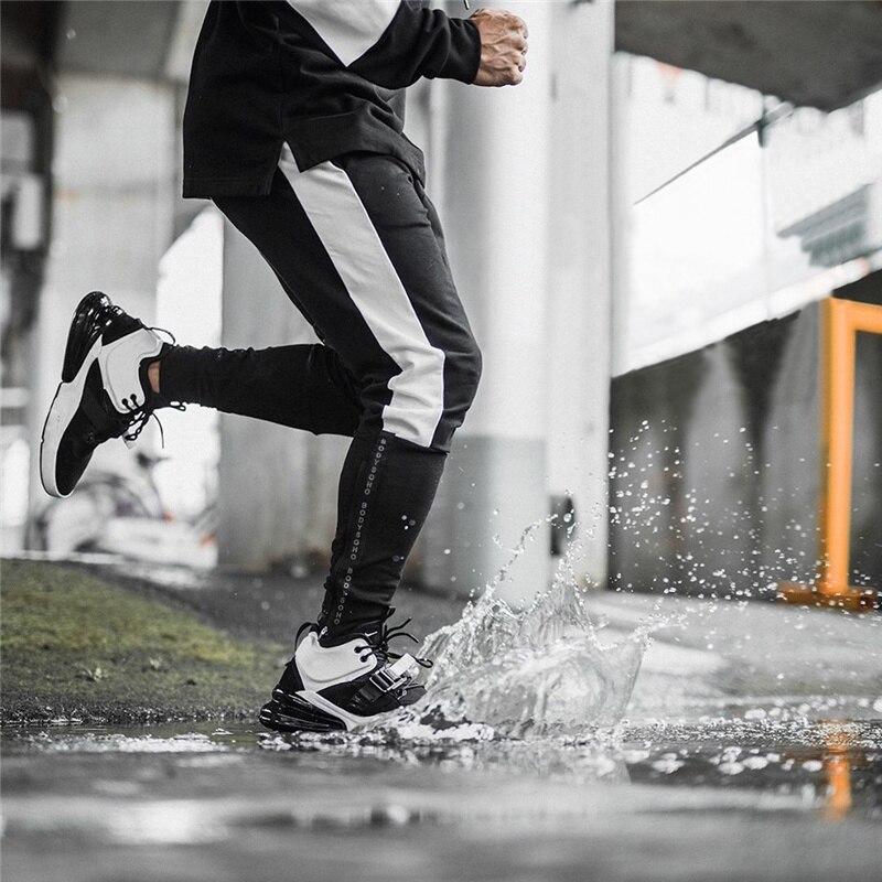 2019 Autumn Men Jogging Running Pants Men Sport Pencil Pants Cotton Soft Bodybuilding Fitness Gym Trousers Tights Sweatpants