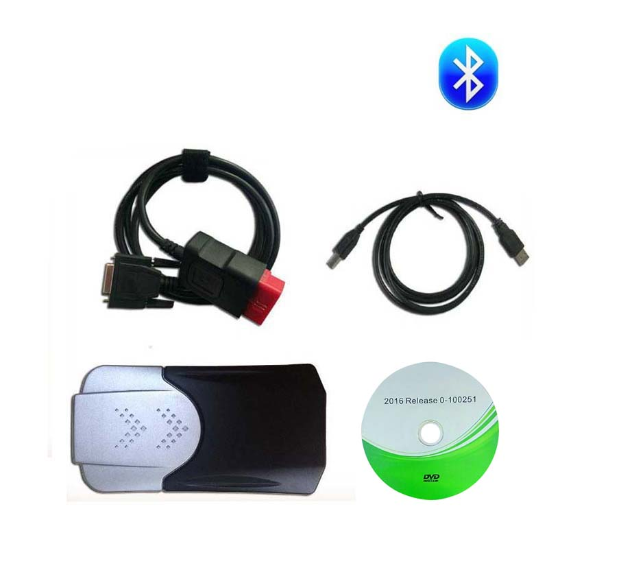 Image 2 - 2019 NEW VCI vd ds150e cdp pro plus 2016.r0 with keygen for delphis obd2 diagnostic repair tool led 3in1 Scanner for cars trucks-in Car Diagnostic Cables & Connectors from Automobiles & Motorcycles